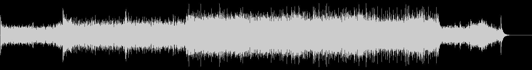 サスペンス。エレクトリックピアノソロ。の未再生の波形
