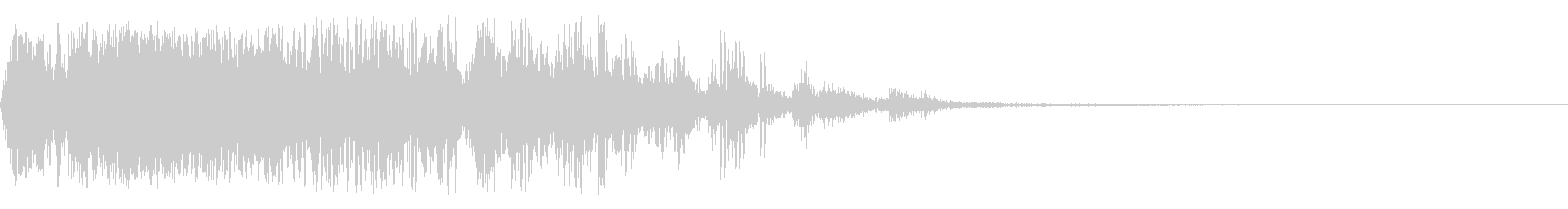 ヘビースパッターフーザザップの未再生の波形