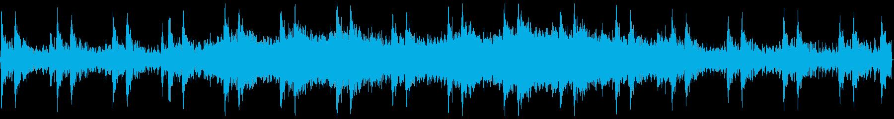 暗めのオーケストラ風BGM【ループ】の再生済みの波形