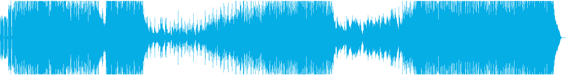 疾走感あふれるピアノロックの再生済みの波形