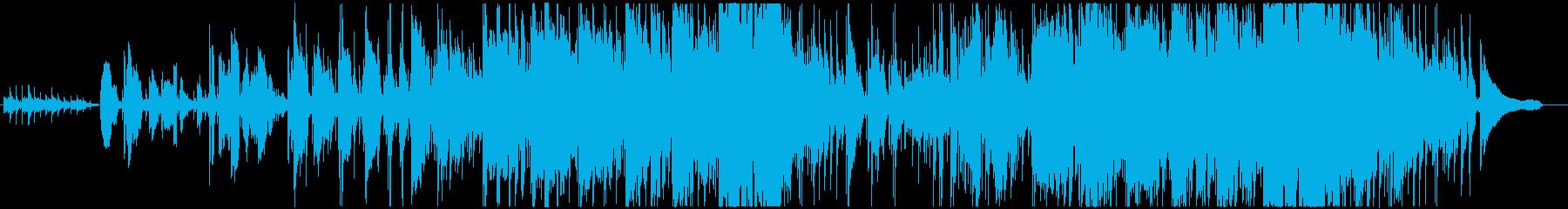 声の再生済みの波形