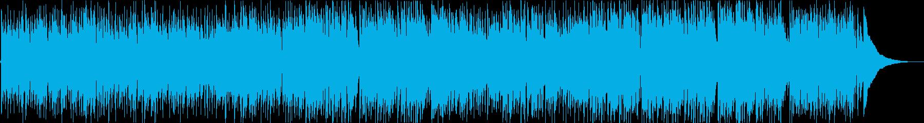 生アコギ 軽快 スウィング キャッチーの再生済みの波形