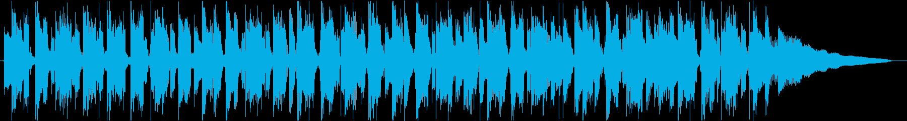 切ない系オシャレトラックの再生済みの波形