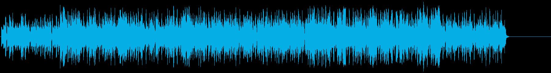 軽快でファンキーなポップ/テクノの再生済みの波形