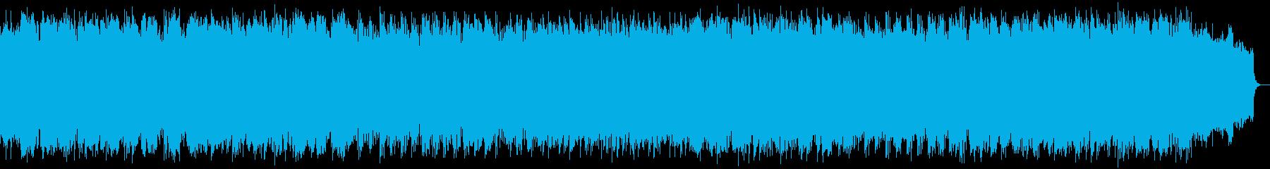 ゆったりとした風景 竹笛のメロディーの再生済みの波形