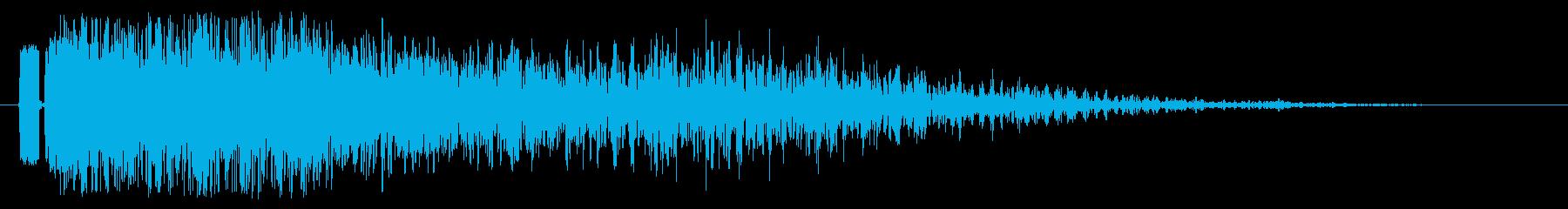 ヘビーグリティバーストエクスプロージョンの再生済みの波形