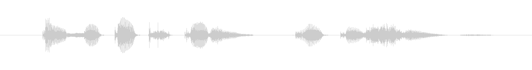 Since that time I ... (female)'s unreproduced waveform