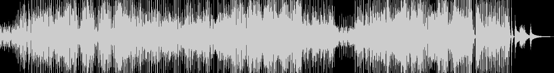 コミカルでユーモラスなジャズ+サックスの未再生の波形