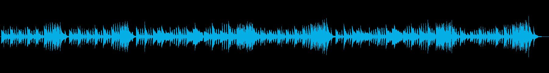 クラシックピアノ、チェルニーNo.27の再生済みの波形