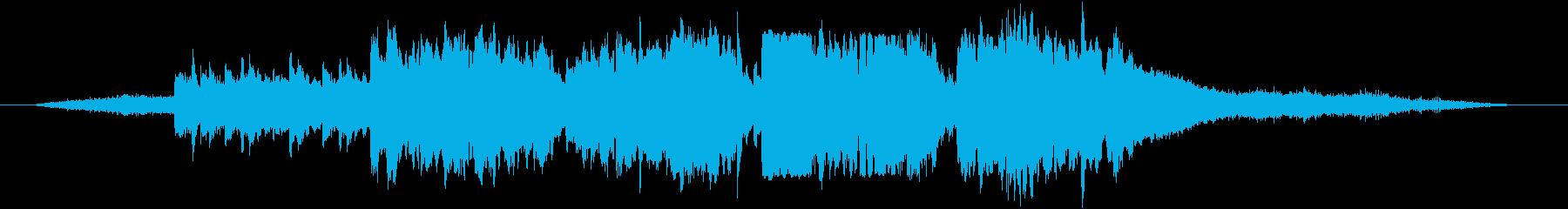 ファンファーレが聴こえた日の再生済みの波形