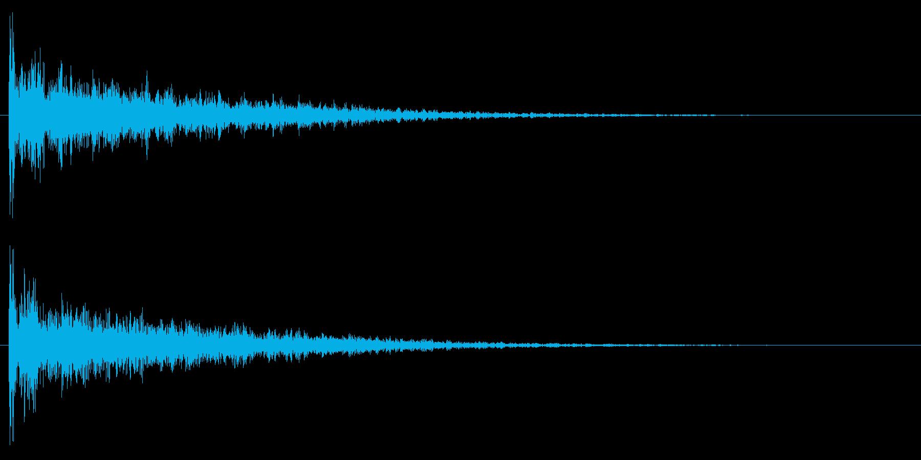 ドーン/映画/インパクトの再生済みの波形