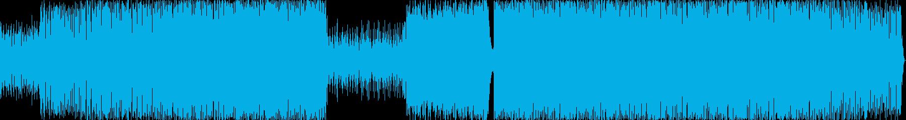 陽気で熱狂的なエレクトロ/ダンスト...の再生済みの波形