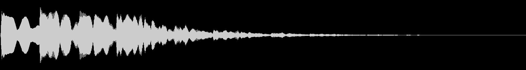 ピンポンパンポン03-1(バイノーラル)の未再生の波形