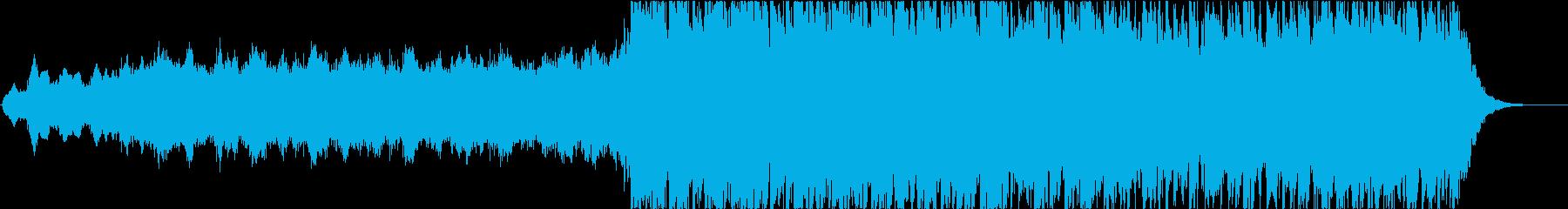 予告編やアクション/追跡シーンに適...の再生済みの波形