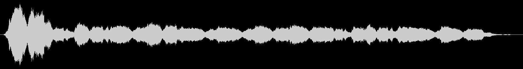シリアス音6の未再生の波形