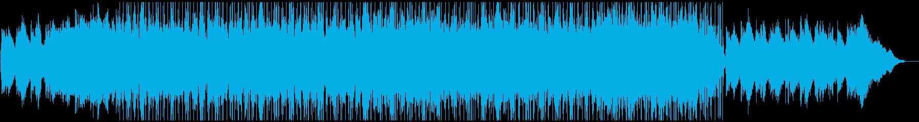 癒されるまったりとしたチル・ヒップホップの再生済みの波形