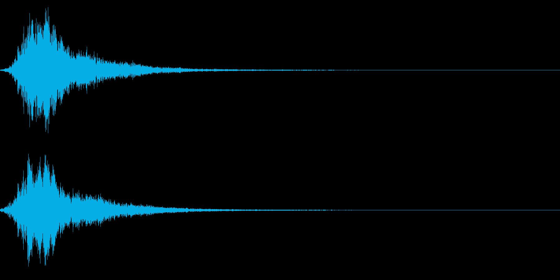 シャキーン!強烈なインパクトに最適!2cの再生済みの波形