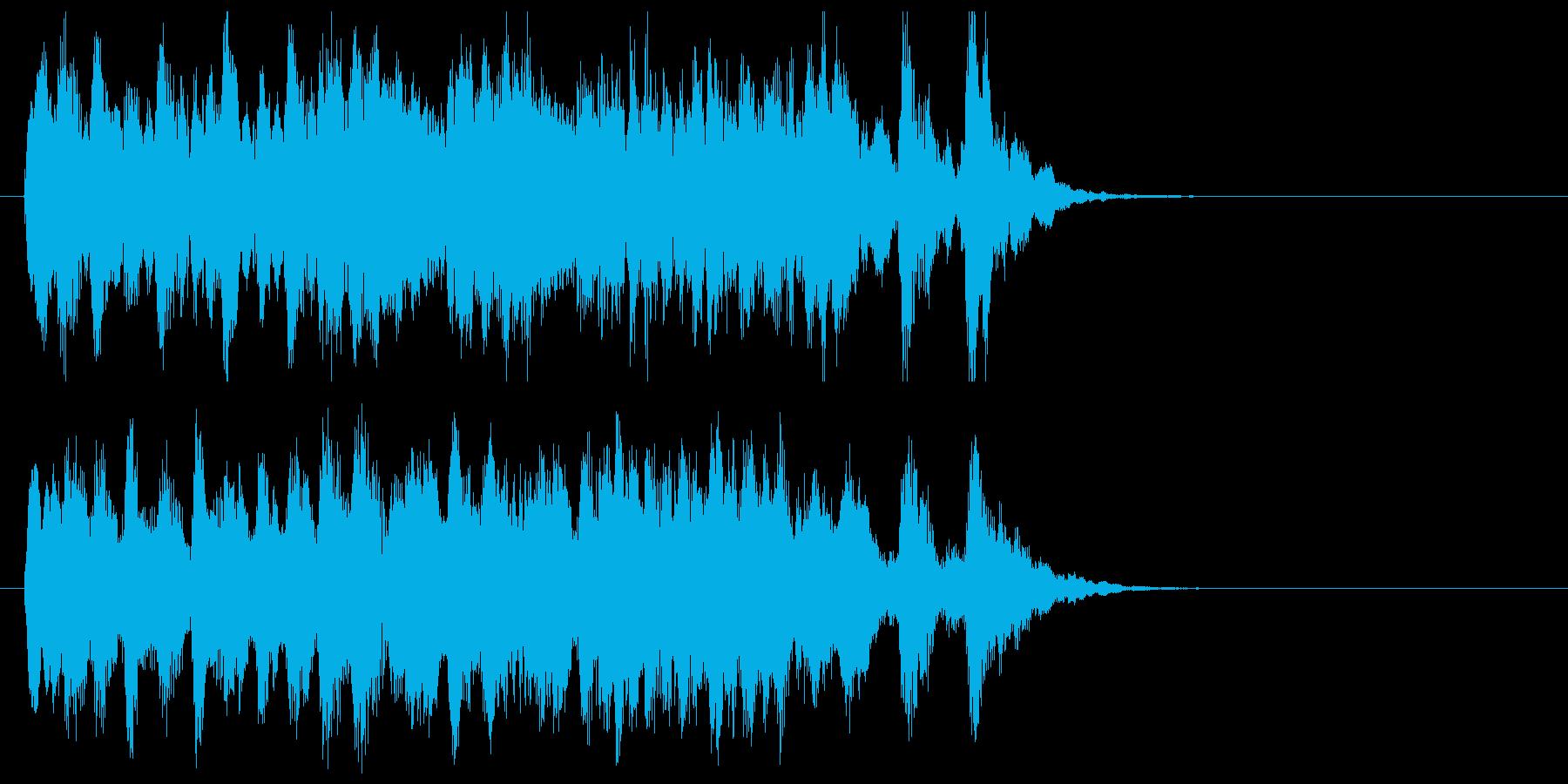 バレエ曲風オーケストラ・ジングルの再生済みの波形
