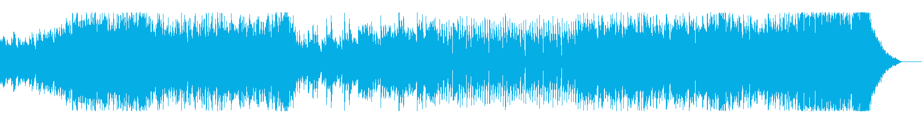 テンション↗ポップなピアノオープニングの再生済みの波形