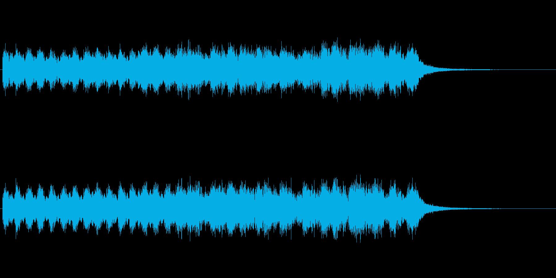 出囃子、中国チャイナ風 ジングル 16秒の再生済みの波形