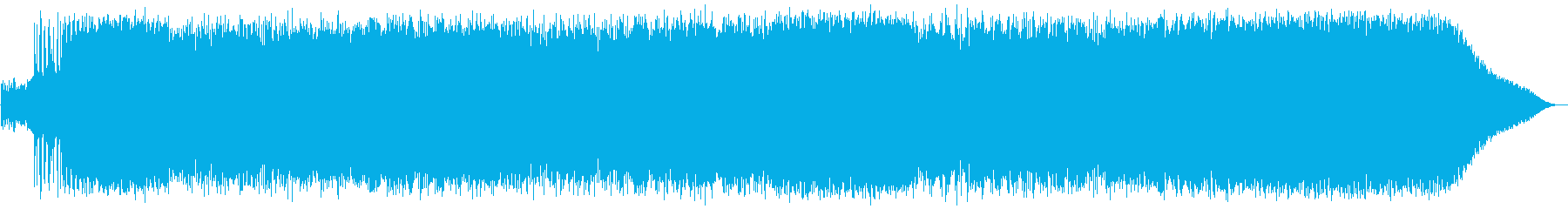 Hard rock with a sense of speed's reproduced waveform
