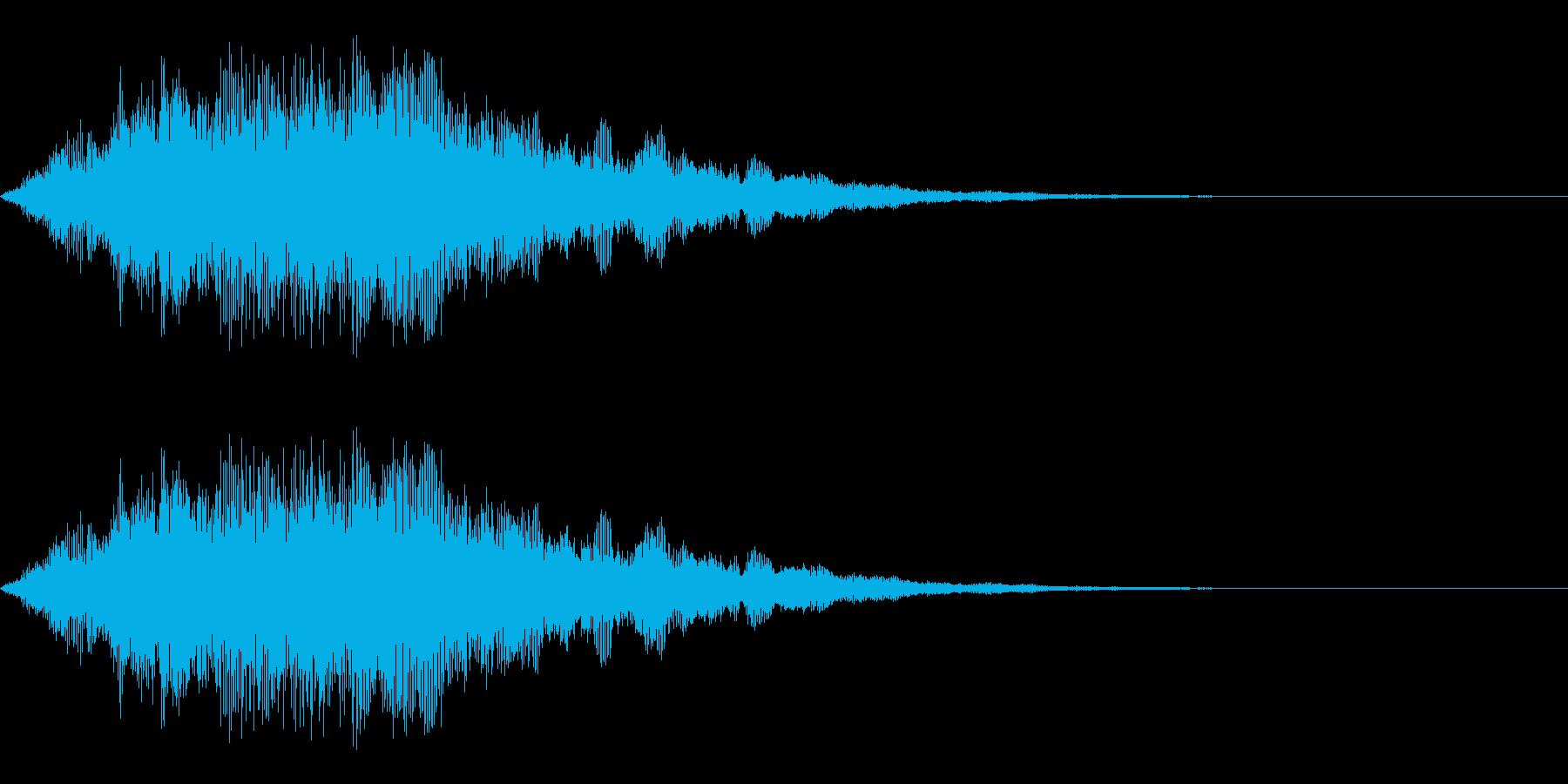 決定のイメージのシステム効果音です。緊…の再生済みの波形