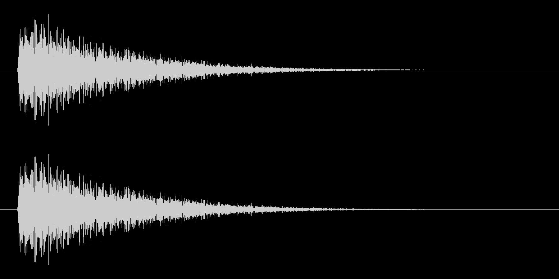 レーザー音-10-3の未再生の波形