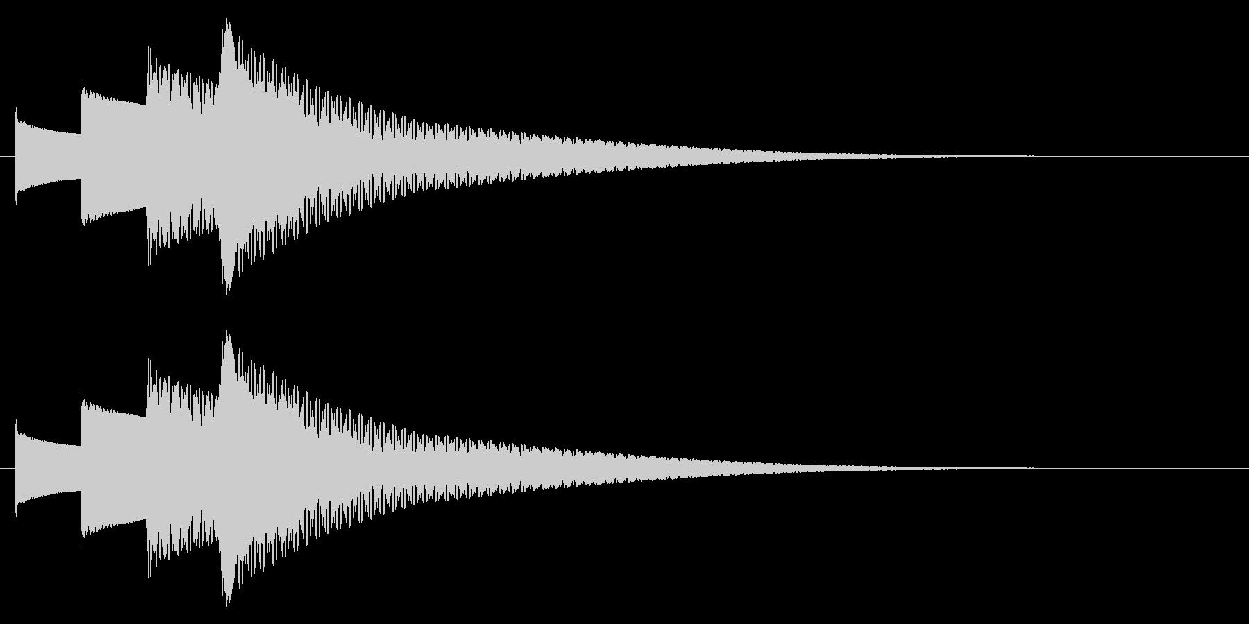 チャイム アナウンス09-4(4点 速いの未再生の波形