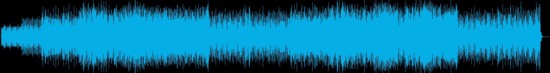 浮遊感と広がりのあるミドルテンポポップスの再生済みの波形