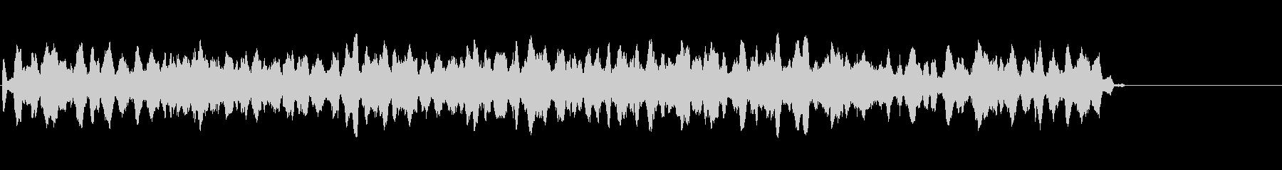 不思議な雰囲気の電子音の未再生の波形