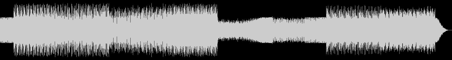 シンプルなアルペジオのテクノ12の未再生の波形