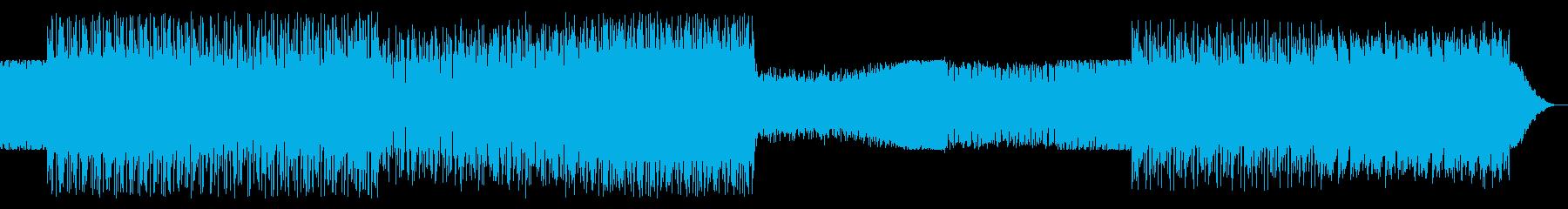 シンプルなアルペジオのテクノ12の再生済みの波形