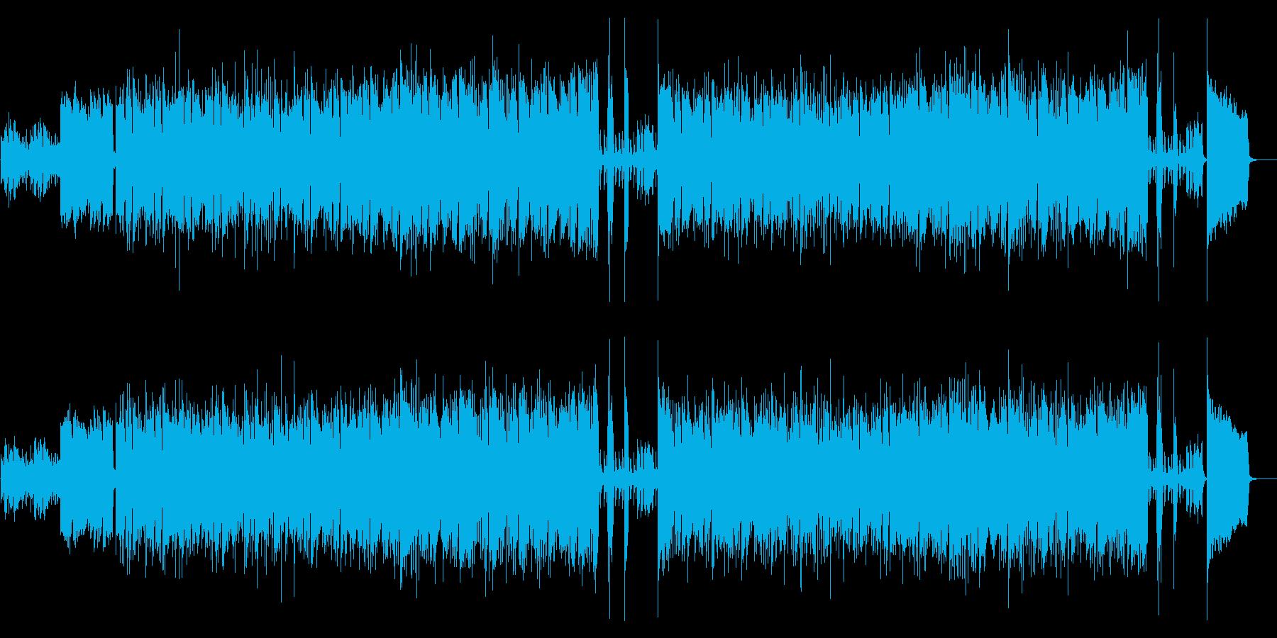 【ポップ】明るい・日常・ファンクの再生済みの波形