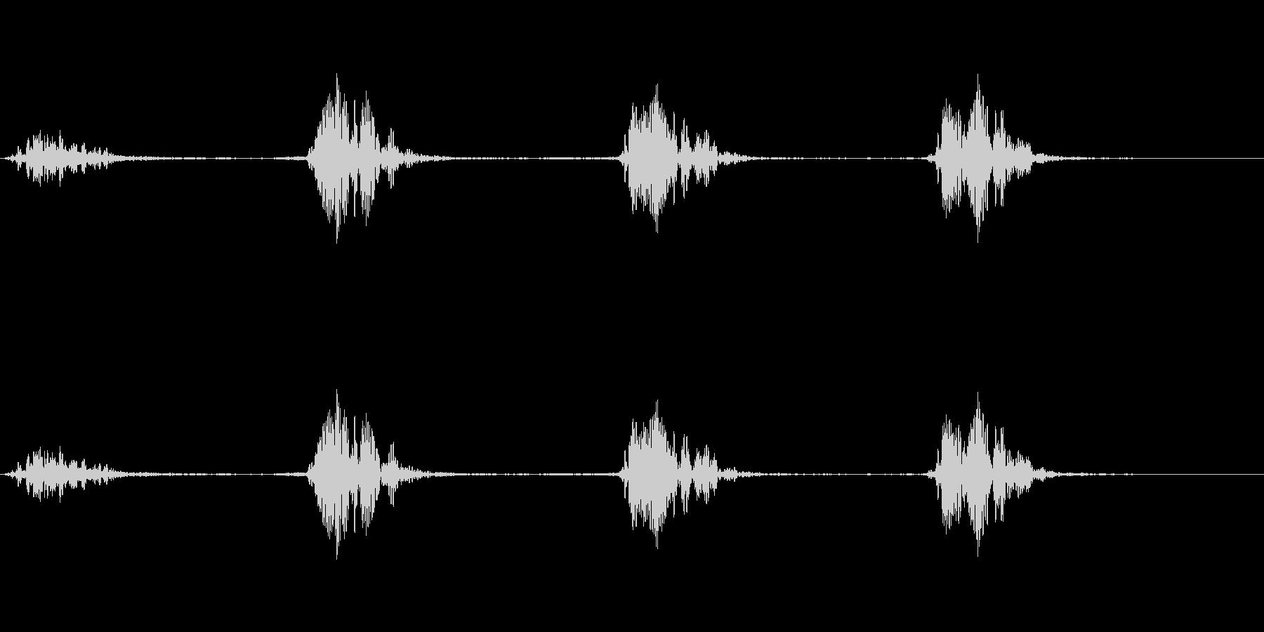 モンスター 息ハァハァ 01の未再生の波形