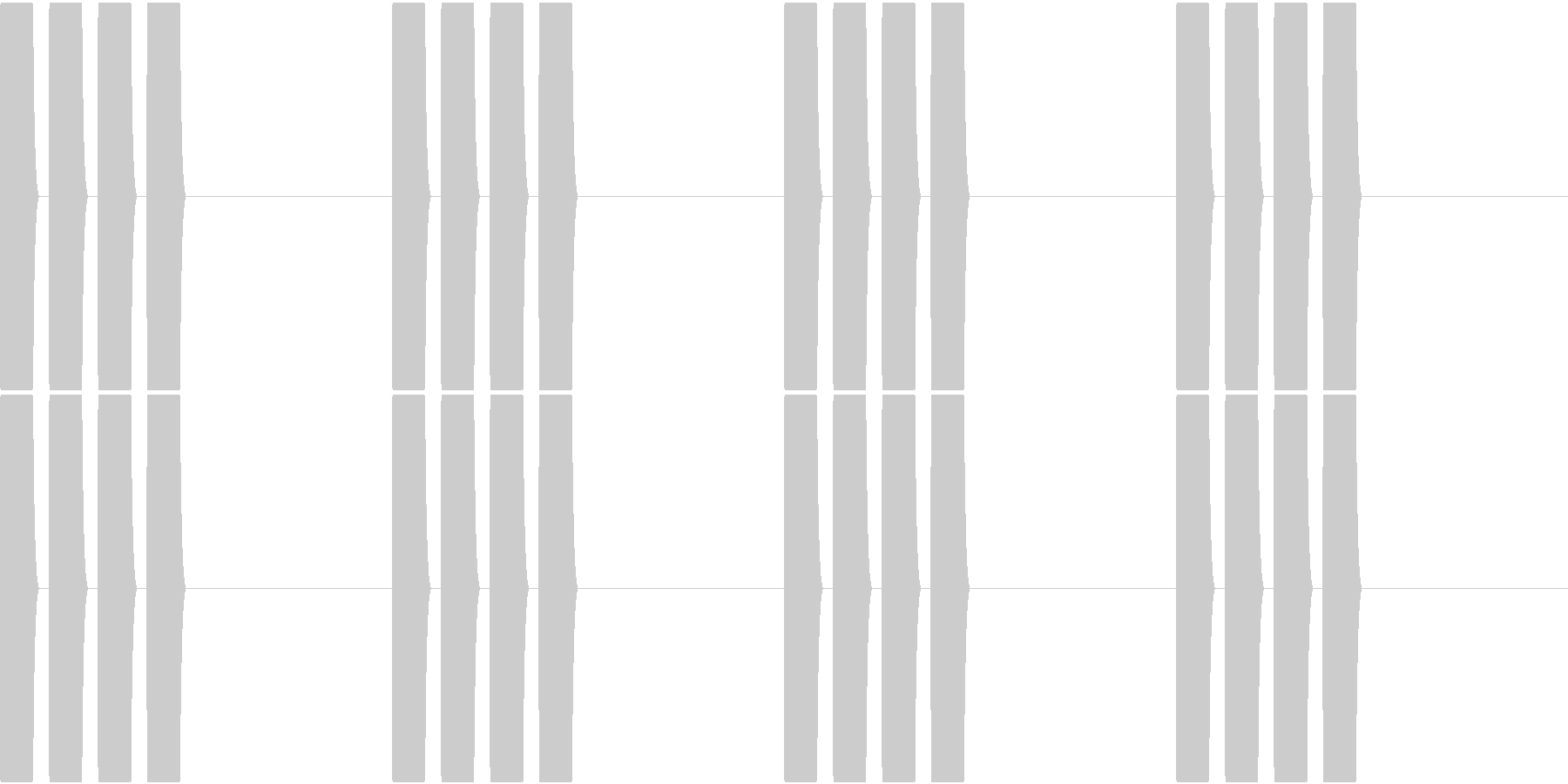 Thermo 体温計の音 ピピピピッ 2の未再生の波形