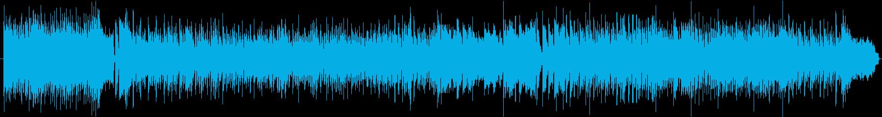 感動的なロックの再生済みの波形
