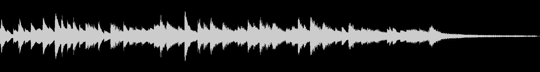 ひょうきんな和風ジングル47-ピアノソロの未再生の波形
