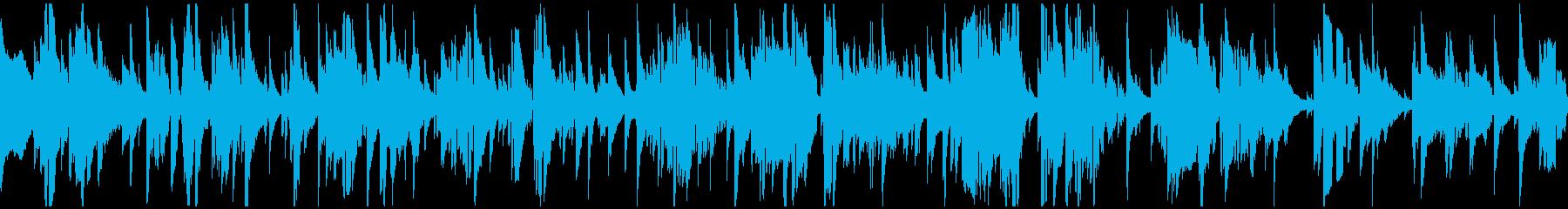 切ないテナーサックスのバラード※ループ版の再生済みの波形