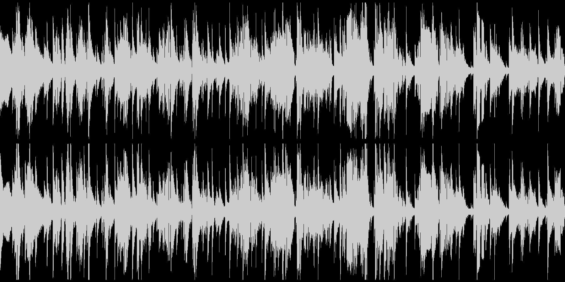 切ないテナーサックスのバラード※ループ版の未再生の波形
