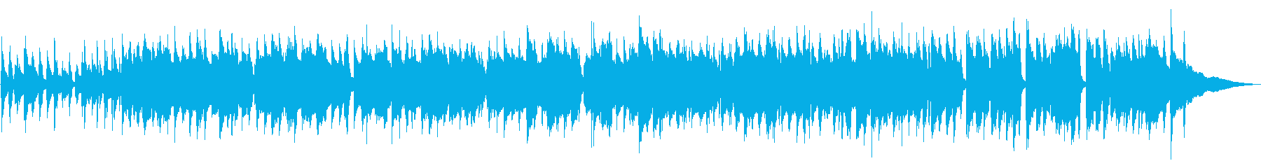 リラックス出来るクラリネットのスイングの再生済みの波形