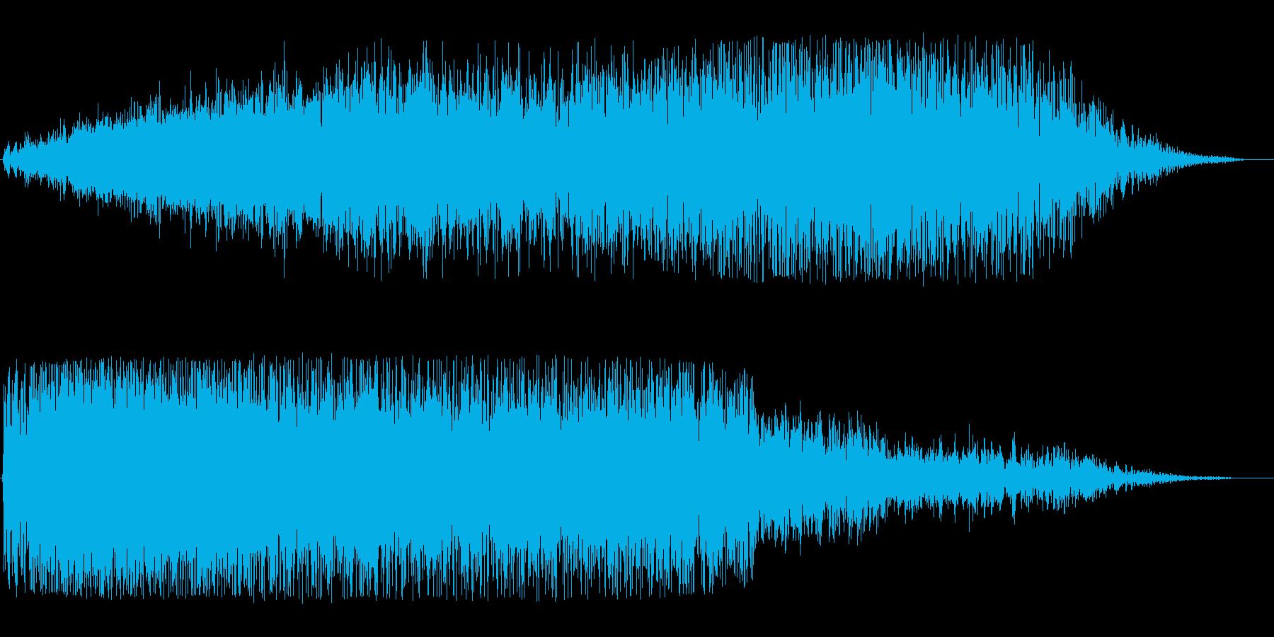 ビュオーン(宇宙船通過10)の再生済みの波形