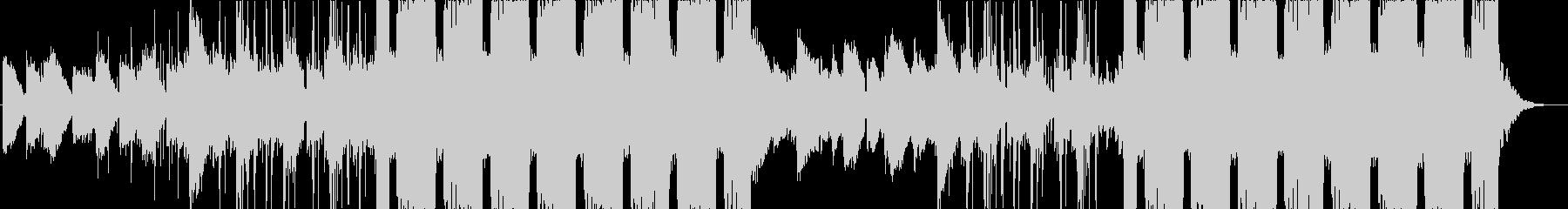 琴を使用した和風なフューチャーベースの未再生の波形