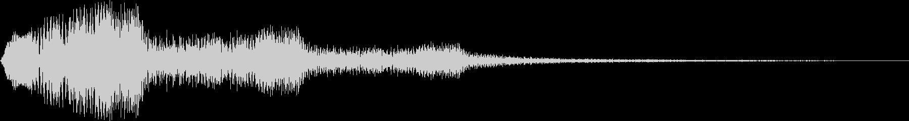 ピラリラ (注意喚起 笛)の未再生の波形
