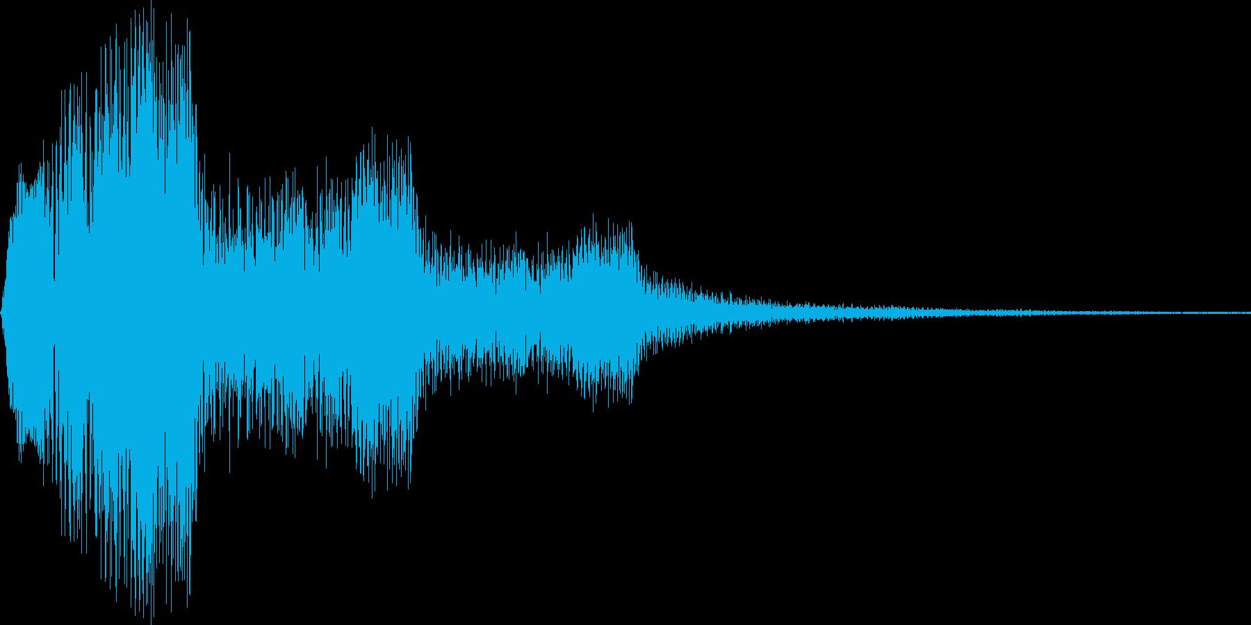 ピラリラ (注意喚起 笛)の再生済みの波形