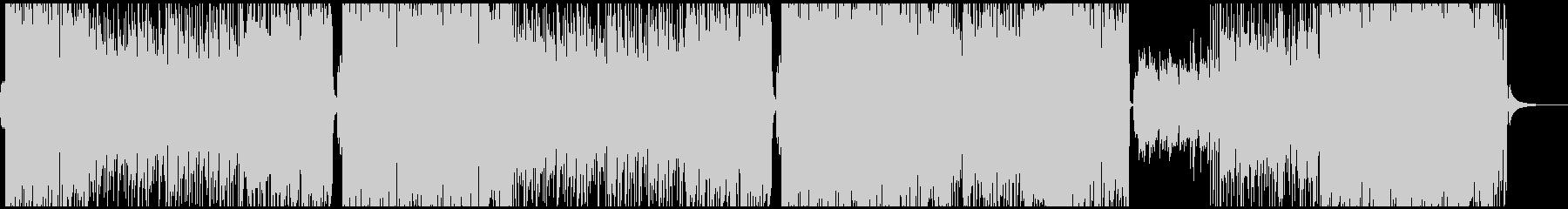ほのぼのした雰囲気のフルート・ポップスの未再生の波形