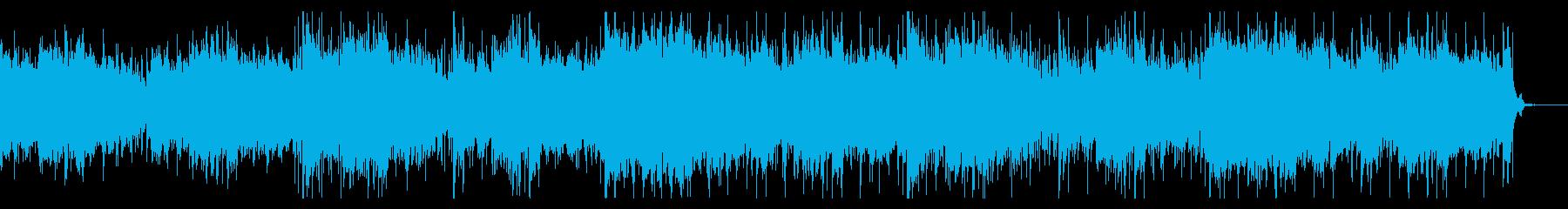 ダークで陰鬱なテクスチャの再生済みの波形