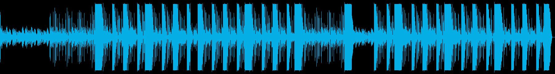 ダークで治安の悪い闇 極悪 ヒップホップの再生済みの波形