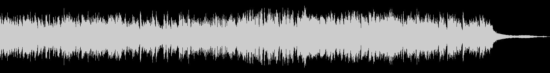 低音重視/重厚で力強い和風曲18-ピアノの未再生の波形