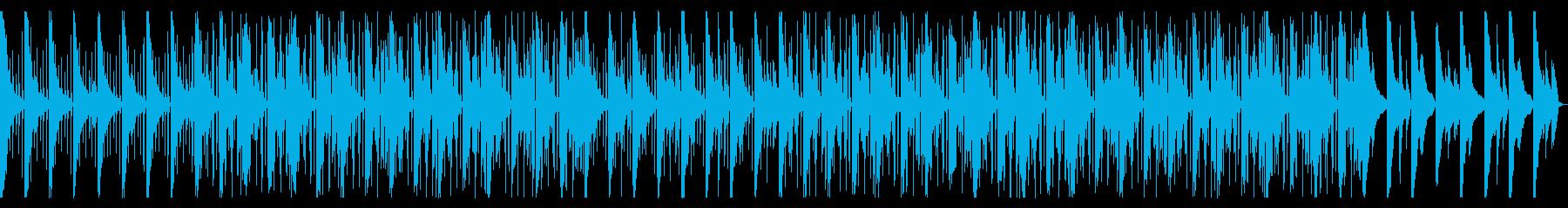 無気力。急速。ローファイヒップホップ。の再生済みの波形