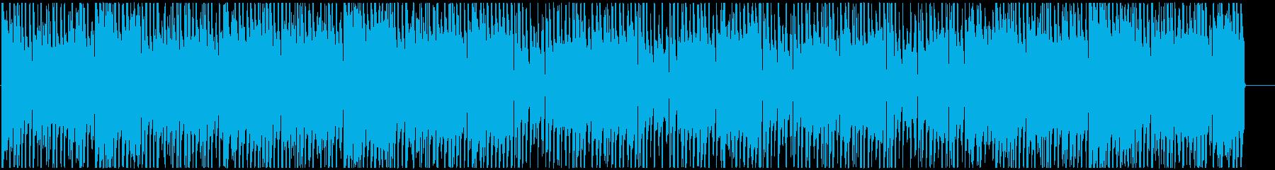 チルアウト 柔らかなR&Bバラードの再生済みの波形